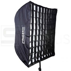 Складной софтбокс Phottix Easy-Up Umbrella Softbox with Grid 70x70cm