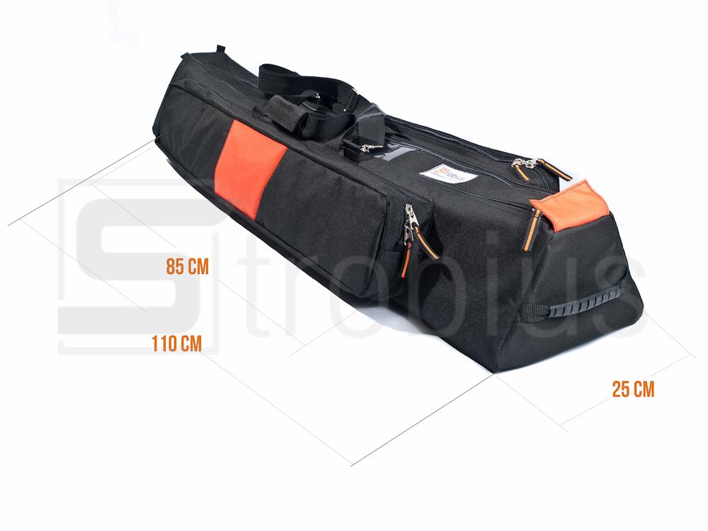 2. Все стенки сумки, в том числе и карманов, трехслойные: внешний и внутренний слой - сумочная прорезиненная ткань.