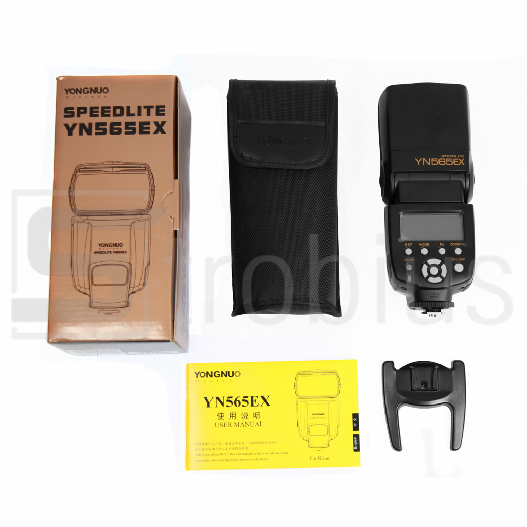 Вспышка Yongnuo YN-565 EX с поддержкой TTL для Nikon в Киеве и Украине по лучшей цене: : обзор, отзывы, описание, продажа, купит