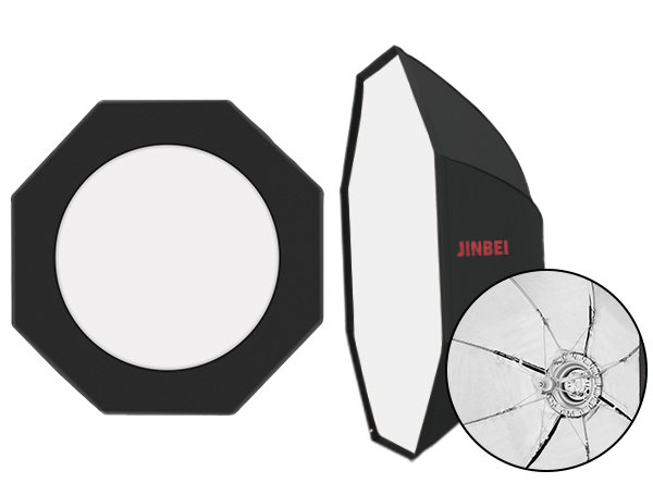 Cофт-бокс Jinbei KC-140 см Octagonal Umbrella Softbox