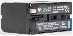 Аккумулятор PowerPlant Sony LED NP-F960 6600mAh