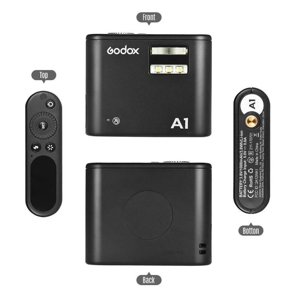 ff10e9a64068d Вспышка для смартфонов Godox A1. New!